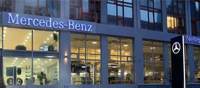 İstoç Oto Center Mercedes Binası